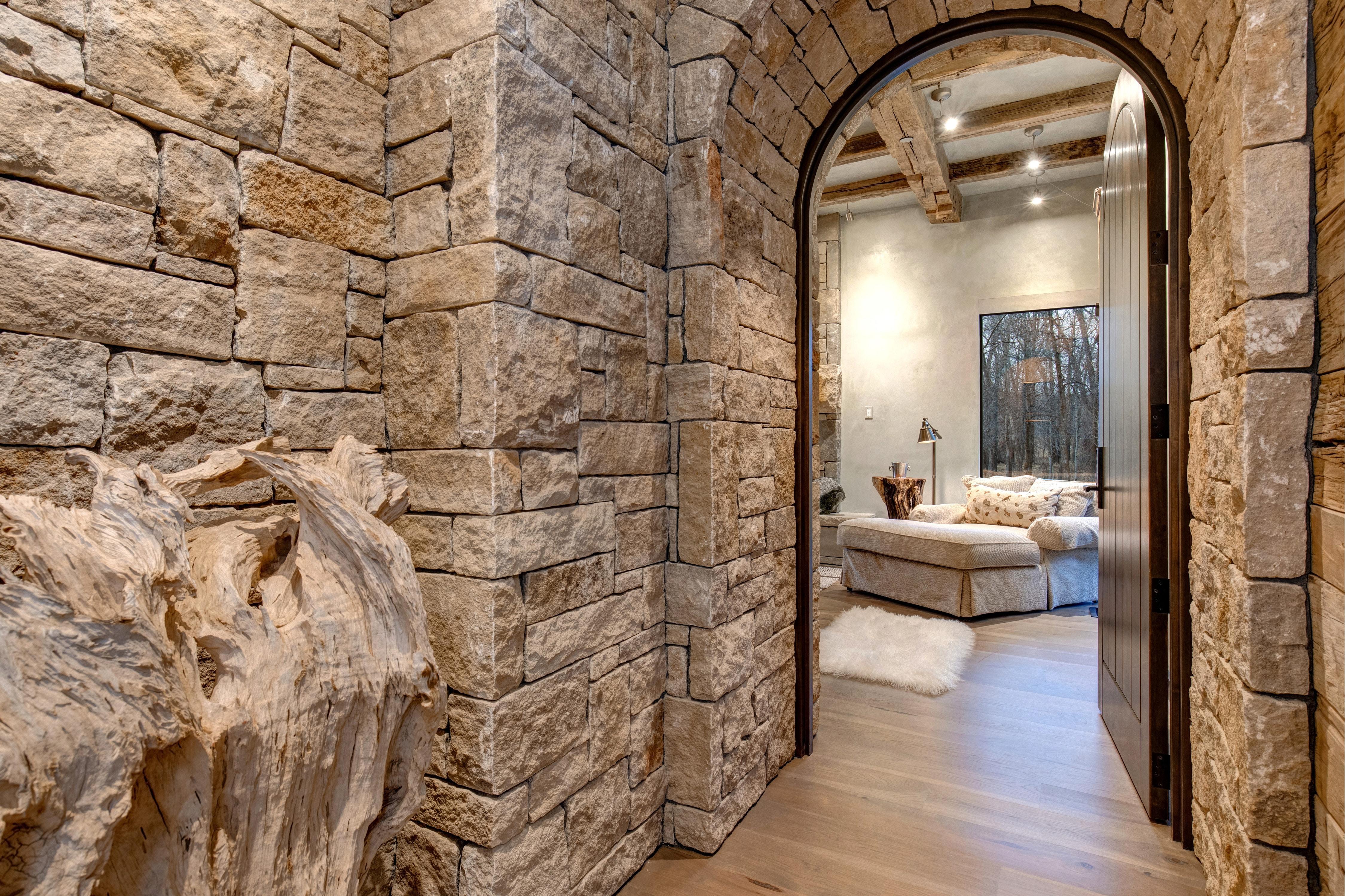 Abode Luxury Rentals Jackson Hole Three Bears Main House Interior Bedroom Master Entry 1 Jackson Hole Lodging Abode Jackson Hole